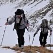 Klaus und Tim am Gipfelgrat