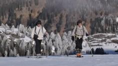 Klaus und Tim beim Aufstieg vom Obersee