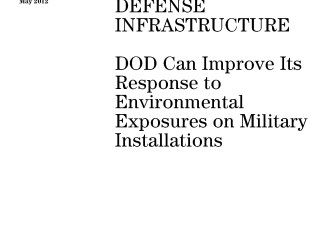DOD Can Improve Its Response to Environmental Exposures on Military Installations