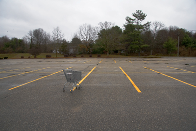 CT cart in lot