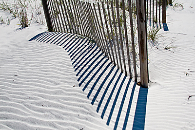sand and shadows
