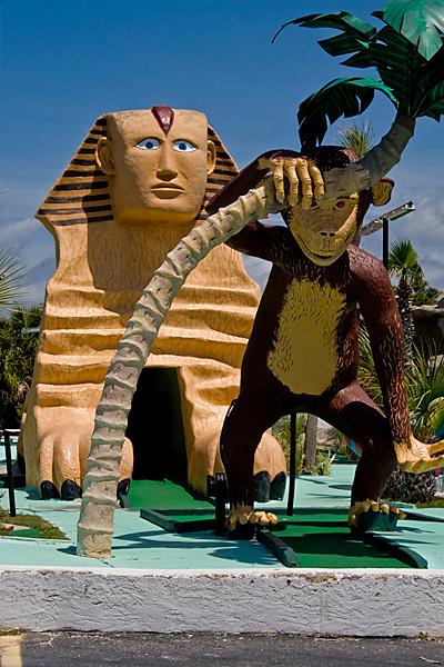 monkey and sphinx