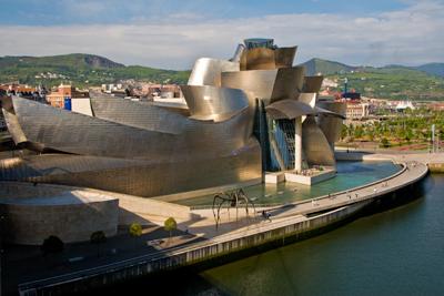 Guggenheim view from bridge