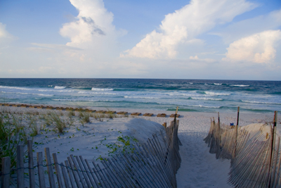 beach at Seaside