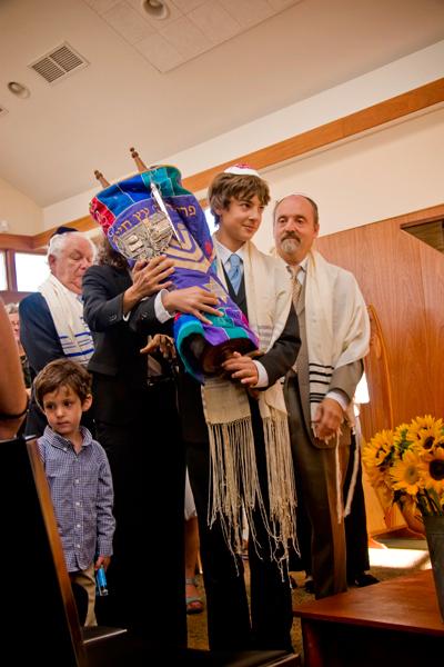 Eli with Torah