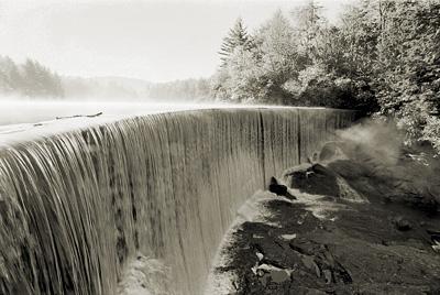 dam in Highlands, NC
