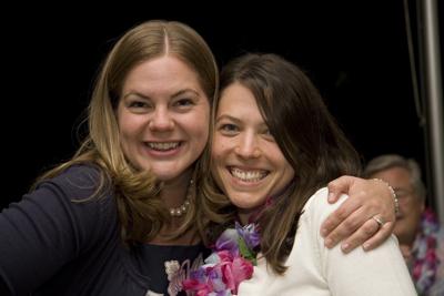 Katie and Friend
