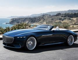Vision Mercedes – Maybach 6 Cabriolet arata absolut fenomenal!