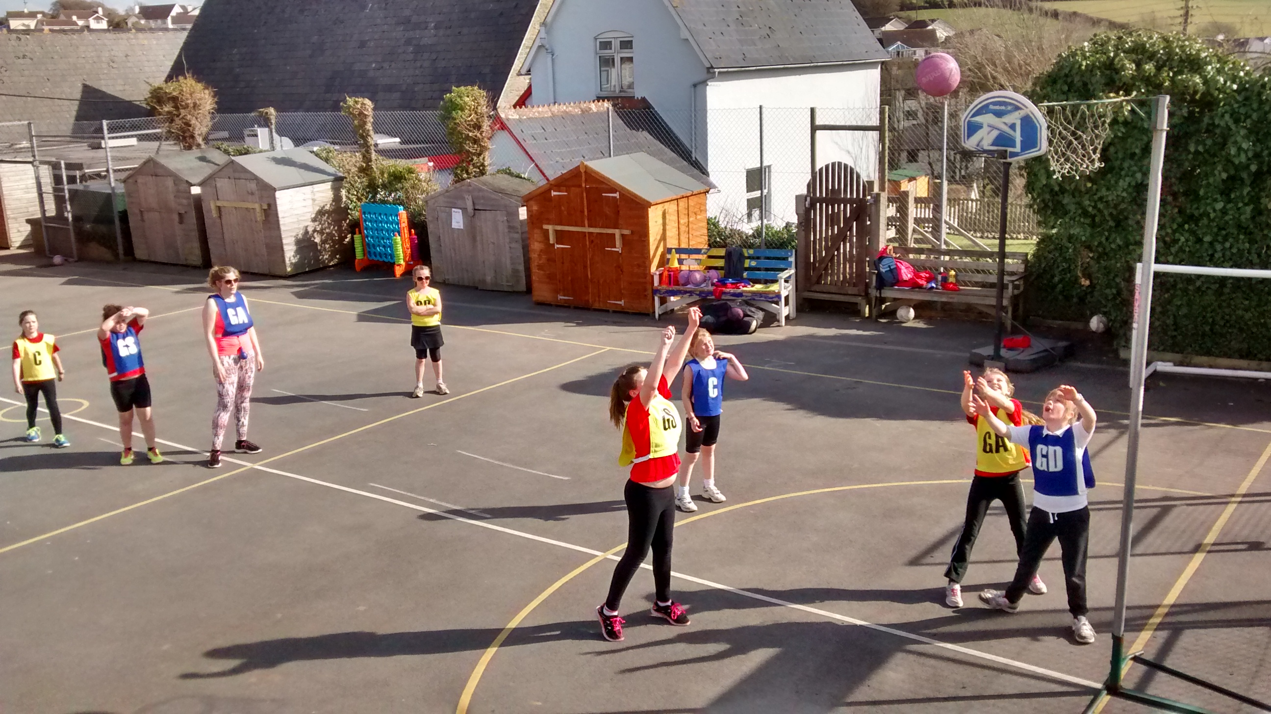 Netball and volleyball clubs… – Georgeham Primary School