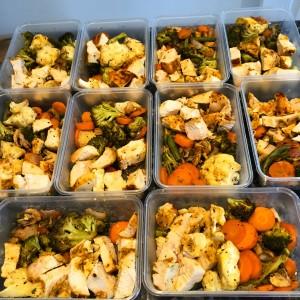 Preparing food bulk