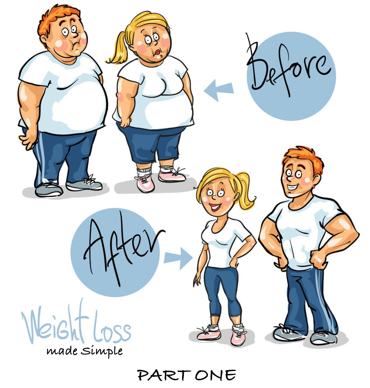 Weight Loss Made Simple – More Results with Less Effort (Part 1 of 2)