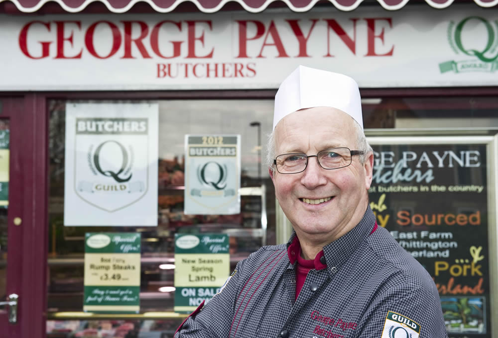 George Payne Gosforth Shop Front