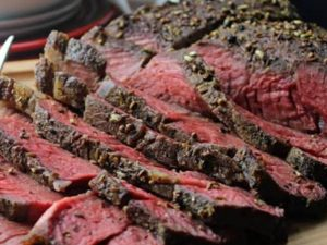 Roast Beef with Thyme & Fennel crust