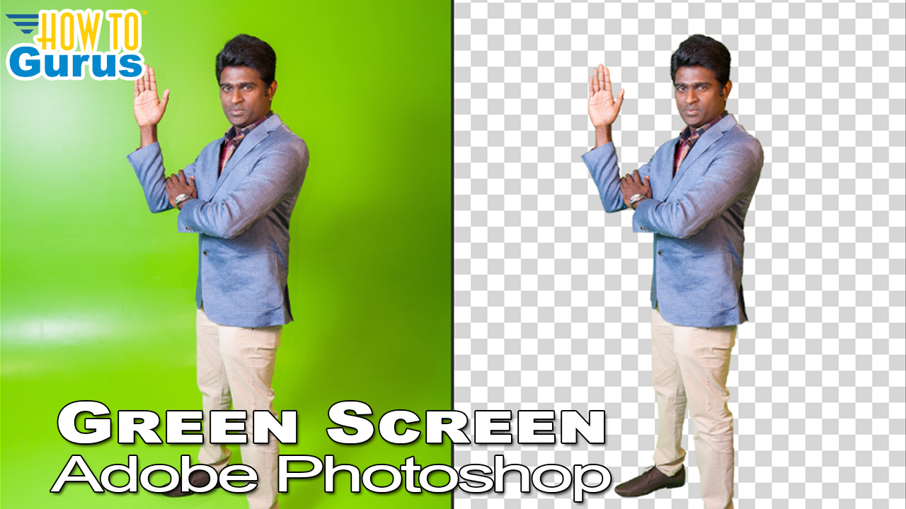 How to: Remove Green Screen Background in Photoshop ...