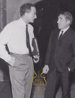 Fred Zinnemann avec Georges Delerue