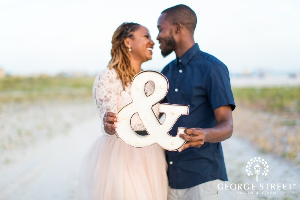 Scherika Gregorys Beachside Engagement Tampa George