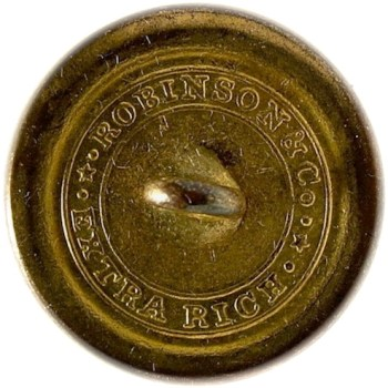 1820-30's Navy 22.6mm Gilded Brass NA 86-A.5 RJ Silverstein's georgewashingtoninauguralbuttons.com O