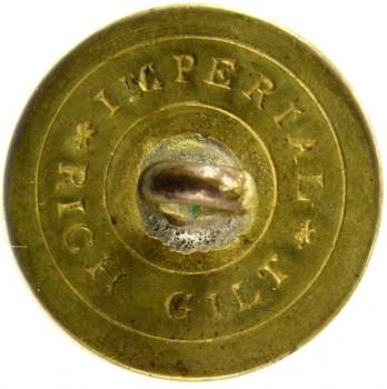 1808-21 Artillery 23mm Gilt Brass Alberts AY 52-A RJ Silverstein's georgewashingtoninauguralbuttons.com R1