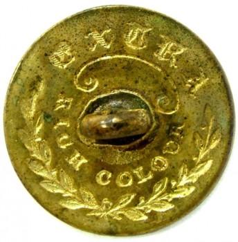 1808-21 Artillery 23mm Gilt Brass Alberts AY 52-B RJ Silverstein's georgewashingtoninauguralbuttons.com R1