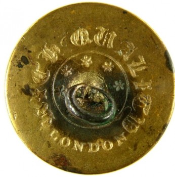 1808-30's Artillery Albert AY 51-B unlist. 23.4mm gilt brass RJ Silverstein's georgewashingtoninauguralbutton.com R