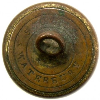 Artillery 19.1mm Gild brass RJ Silverstein's georgewashingtoninauguralbuttons.com O