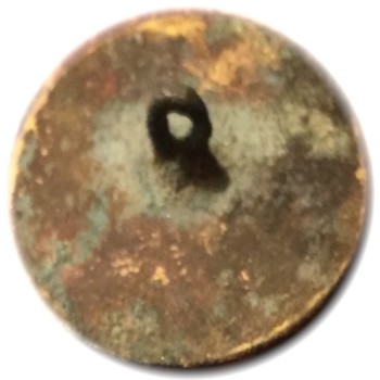 GWI 2-A 35mm Gilt Brass Orig. Shank South Carolina Dug by J.A. Mullinax 864-414-4234 RJ Silversteins georgewashingtoninauguralbuttons.com R
