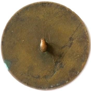 GWI 8-B? 35mm Brass Orig. Shank RJ Silversteins georgewashingtoninauguralbuttons.com R