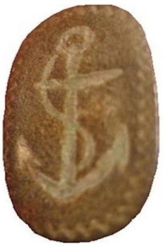 1770-80's Rev War Cuff Links Dug by Bill Cross1 georgewashingtoninauguralbuttons.com O