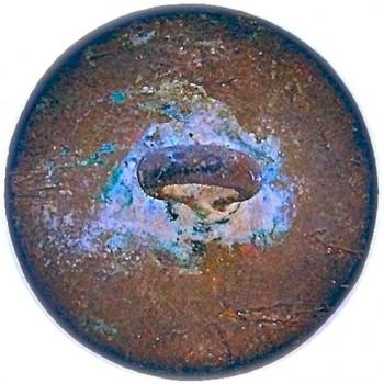 1775-1782 Revolutionary War British King's Dragoon Gaurd Button 26MM georgewashingtoninauguralbuttons.com r