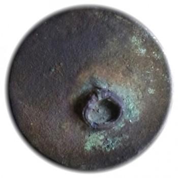 1785-1801 Royal Irish Artillery 25mm. Gilded Brass RJ Silverstein's georgewashingtoninauguralbuttons.com R