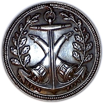 1804-1817 27mm Silver Plated White Metal RJ Silversteins georgewashingtoninauguralbuttons.com O