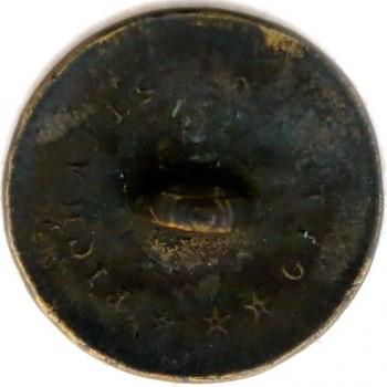 1812-15 Infantry 19.32mm GI 43 A-1 RJ Silversteins georgewashingtoninauguralbuttons.com R