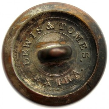 1815-30 NY Militia 21mm NY 11 Silvered Copper RJ Silverstein's georgewashingtoninauguralbuttons.com R1