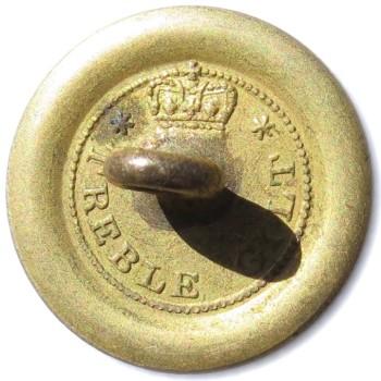 1820's Militia Rifles 21.29mm Gilt Brass RJ Silversteins georgewashingtoninauguralbuttons.com O
