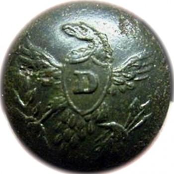 1830's Seminole War Dragoons cuff orig shank Tice DR 206