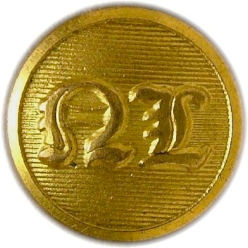 1835 Mass. National Lancers 14mm Gild Brass georgewashingtoninauguralbuttons.com O