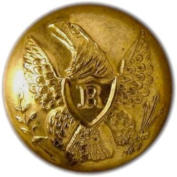 1840-50's Federal Riflemen Albert RF 17 2-Piece georgewashingtoninauguralbuttons.com O
