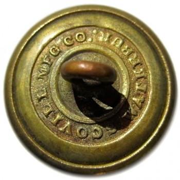 1840-61 Dragoons mounted service 22mm gilded brass georgewashingtoninauguralbuttons.com R
