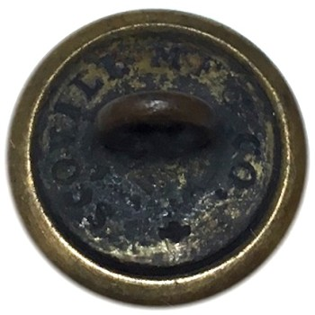 1850-60's New Yorrk Militia 13th Regiment AKA National Grays 22.90mm Gilt Brass NY230As.1 NY49 georgewashingtoninauguralbuttons.com r