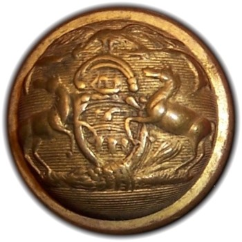 1850-61 Pennsylvania Militia PA 203 A.2 23mm Gilt Brass Georgewashingtoninauguralbuttons.com O
