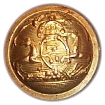 1850-61 Pennsylvania Militia PA 203 As.3 PA 18Av 15mm Gilt Brass Georgewashingtoninauguralbuttons.com O