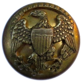 1852-70 Official Diplotatic Service 20.89 Gilt Brass RJ Silverstein georgewashingtoninauguralbuttons.com O