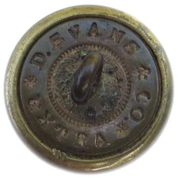1853-73 Official Diplomatic Service 15.18mm Gilt Brass RJ Silversteins georgewashingtoninauguralbuttons.com R