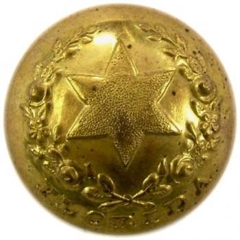 1860 Florida Infantry 20.6mm FL3 Gilded Brass rj silverstein's georgewashingtoninauguralbuttons.com O