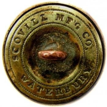 1860 Missouri State Seal 22.3mm Gild Brass MO 200 RJ Silversteins georgewashingtonbuttons.com r