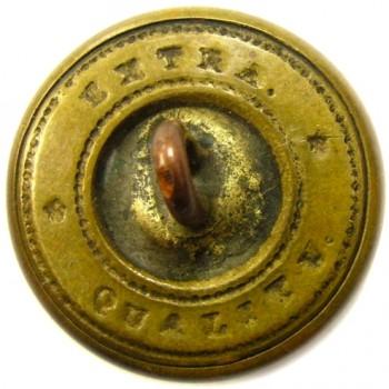 1860 NEW HAMPSHIRE 23mm Gilt Brass 3-Part rj silverstein georgewashingtoninauguralbuttons.com R