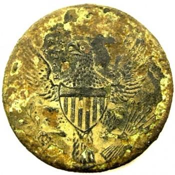 Pre-1820 Diplomatic Service 24mm. Alberts OD 5 georgewashingtoninauguralbuttons.com o