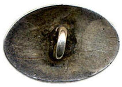 George Washington Unlisted Portrait Shank Button BRITISH MANUF. H.A. 11-12-04 REV. MINT- ORIG. SHANK