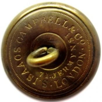 1861-65 CONFEDERATE NAVY 23MM GILDED BRASS 2-PIECE LOOSE SHANK ALBERT CS53-TICE CSN206A.1 rj silverstein's georgewashingtoninauguralbuttons.com R