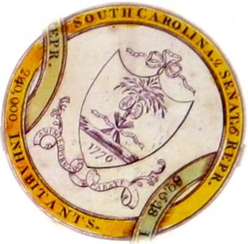Amos Doolittle A Display of the United States of America SOUTH CAROLINA O